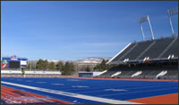 Boise State University Blue Football Field