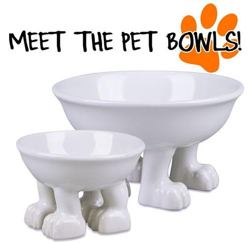 4 Pawed Pet Bowls