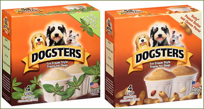 Dogsters Frozen Dog Treats