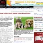 Dog associated house dust
