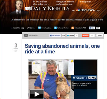 See the video, reach the article by NBC News.